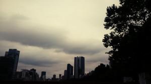 うす曇りの市ヶ谷