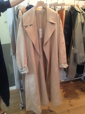 beautiful over sized coat ¥50,000〜60,000 reasonable price!